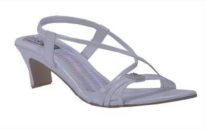 Fabme Women White Heels