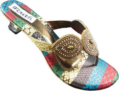Faith 1000128 Women Multicolor Heels