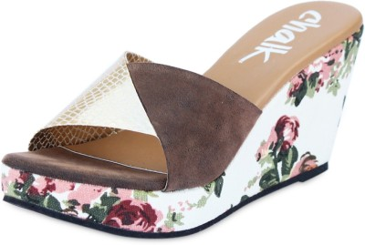 Chalk Studio Polly Blossom Women Multicolor Wedges