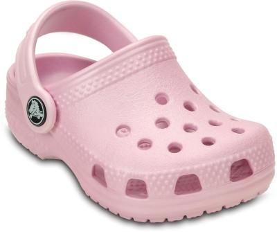 Crocs Girls Pink Sandals