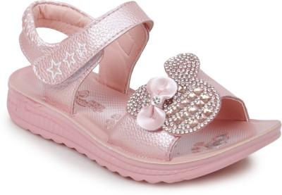 Zebra Girls Pink Sandals