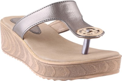 Shoestory Women Grey Wedges