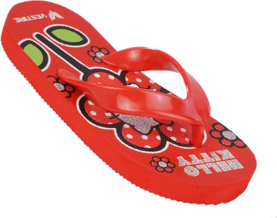 Hello Kitty Boys, Girls Red Sandals