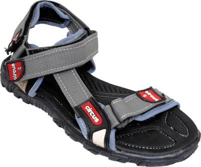 VALENKI Men Grey, Black Sandals