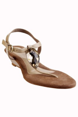 GLAMWALK Women Beige Heels