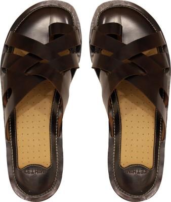 Kethini Men Tan, Brown Sandals