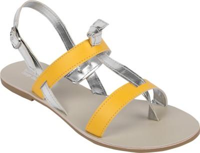 Charu- Diva Design Studio Women Yellow Flats