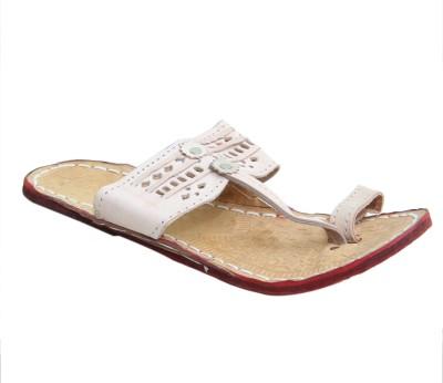 JS Men Beige Sandals