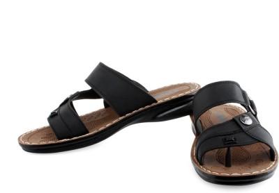 Welcome Men Black Sandals