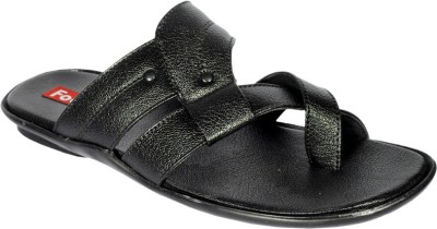 Footoes Men Black Sandals