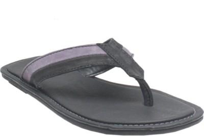 Jack Don Men Black, Purple Sandals
