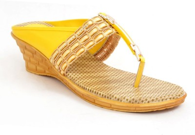 Lee Walk Women Yellow Wedges