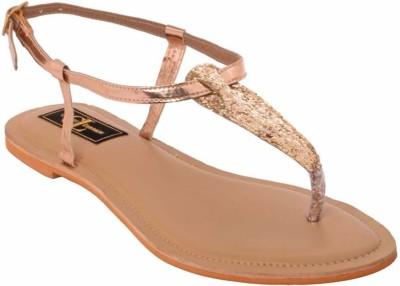 Claude Lorrain Women Gold Flats