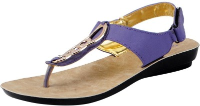 Bata Women Purple Flats