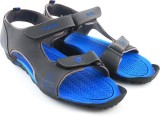 Lotto Men Grey/Blue Sports Sandals