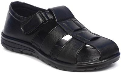 Signet India Men Black Sandals
