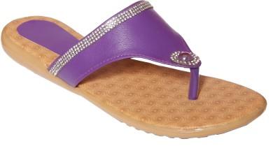 Step Zone Women Purple Flats