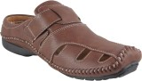 Kivanahs Men Brown Sandals