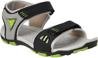 Dice Men Black, Green Sandals
