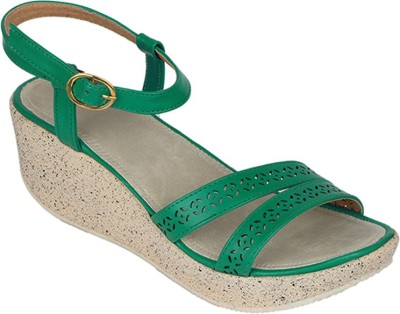 Suyash Girls Green Heels