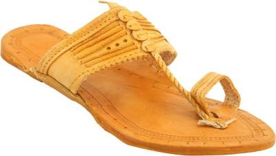Theme United Men Yellow Sandals