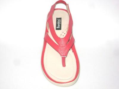 Bambini Women Red Flats
