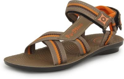 Pu-Mini ST*R Men Camel Sandals