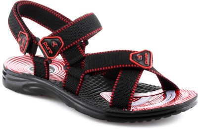 Welcome Pure Wgp1211 Black Red Men Black, Red Sandals