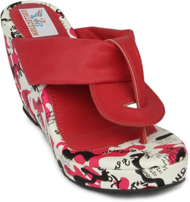 2B Collection Snowy Women Wedges