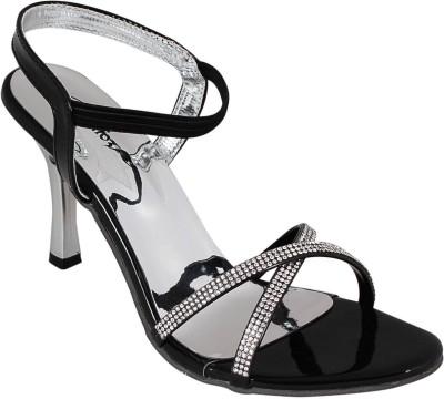 Bellafoz Women Black Heels