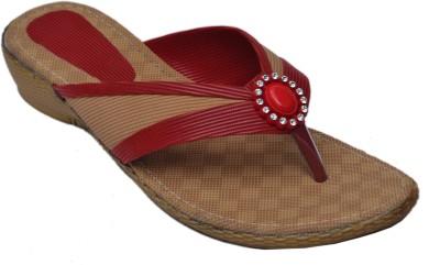 Belle Femme Women Red Flats