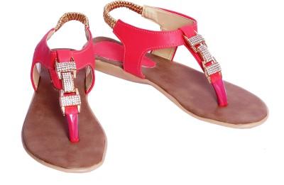 Pu-Good Women Pink Flats