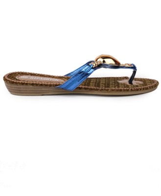 Darcey Women Blue Flats