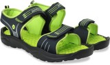 Lotto Men Navy/Lime Sports Sandals