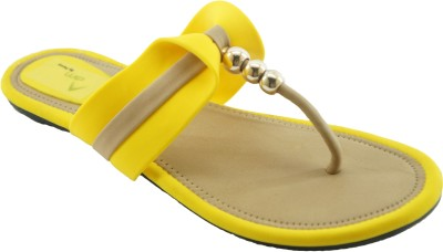 AM by Penny Women Yellow Flats