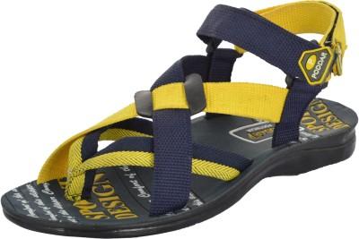 Poddar Men Yellow Sandals