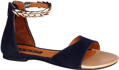 Zoe Skodon Women Blue Flats