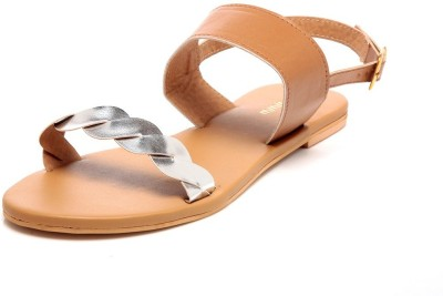 Awww Girls, Women Tan Flats