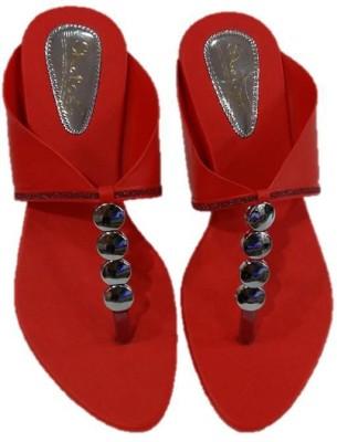 Pinki Shoes Women Red Flats