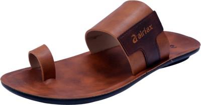 Airfax Men Tan Sandals