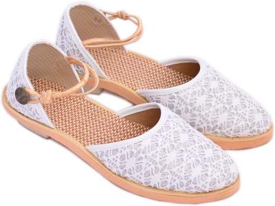 Myra Women White Heels
