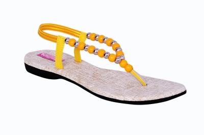 Versiliana Women Yellow Flats