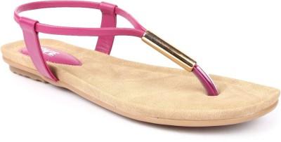Jove Women Pink Flats