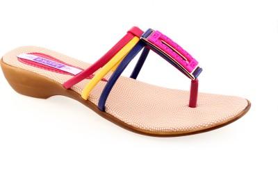 Aashka Women Pink, Beige Flats