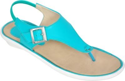 Shoe Dice Girls Green Sandals