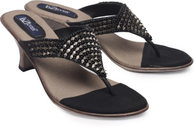 La Zilver Girls Black Heels