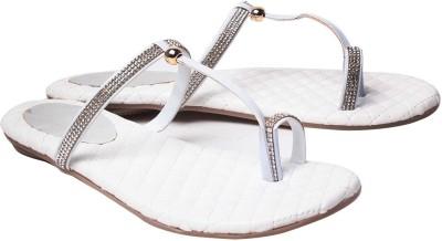 Dezire Women White Flats