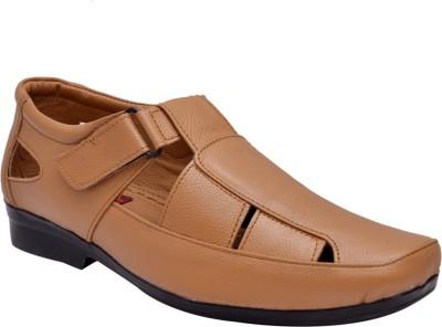 John Karsun Men Beige Sandals