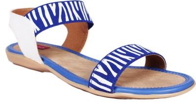 SCANTIA Girls Blue Sandals