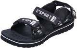 Irus Men Black Sandals